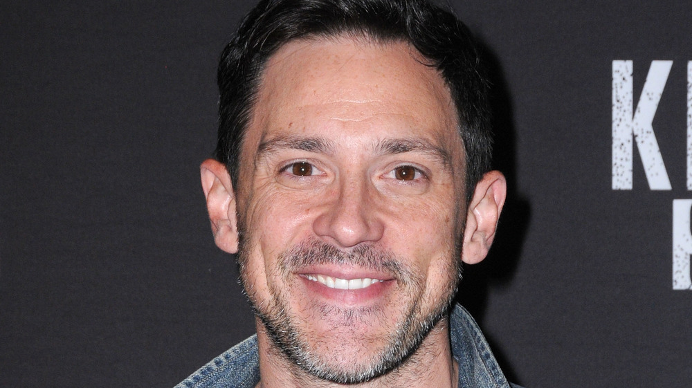 Steve Kazee smiling looking into the camera
