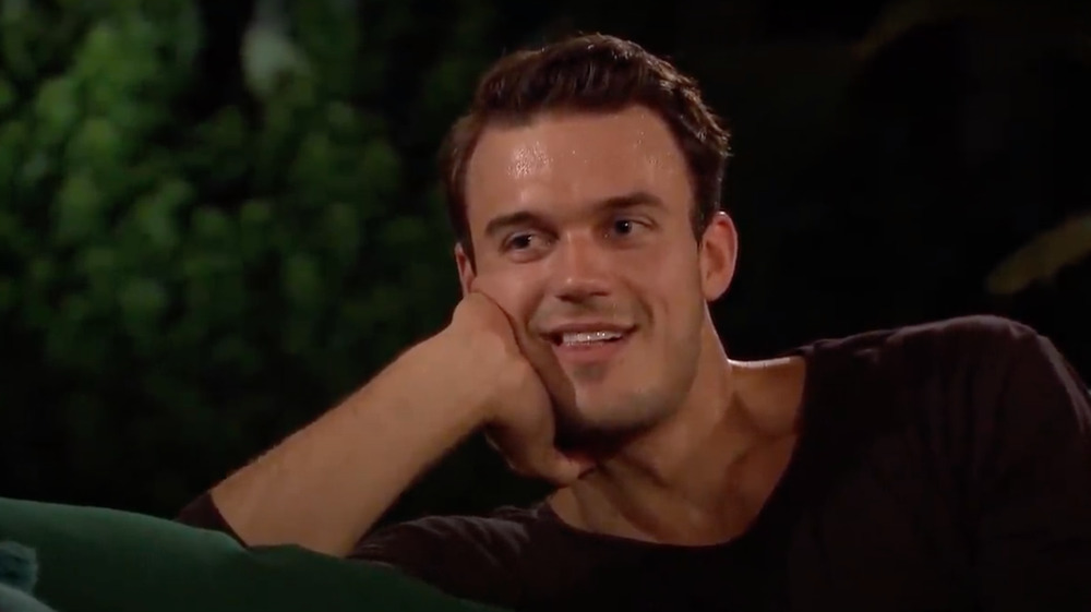 Ben Smith smiling on The Bachelorette