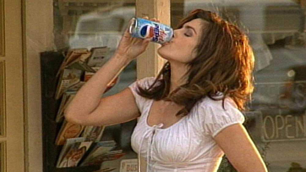 Cindy Crawford in 2002 Pepsi ad