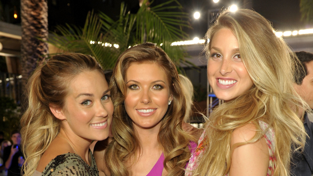 Lauren Conrad, Audrina Patridge, and Whitney Port in 2010
