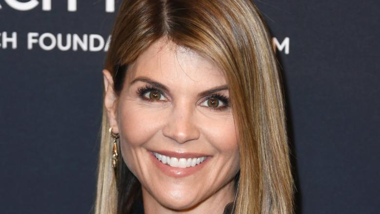 Lori Loughlin smiling