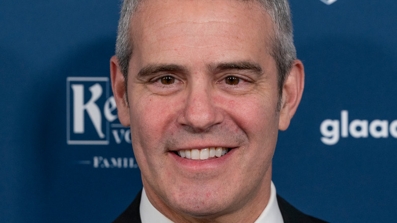 Andy Cohen gray hair