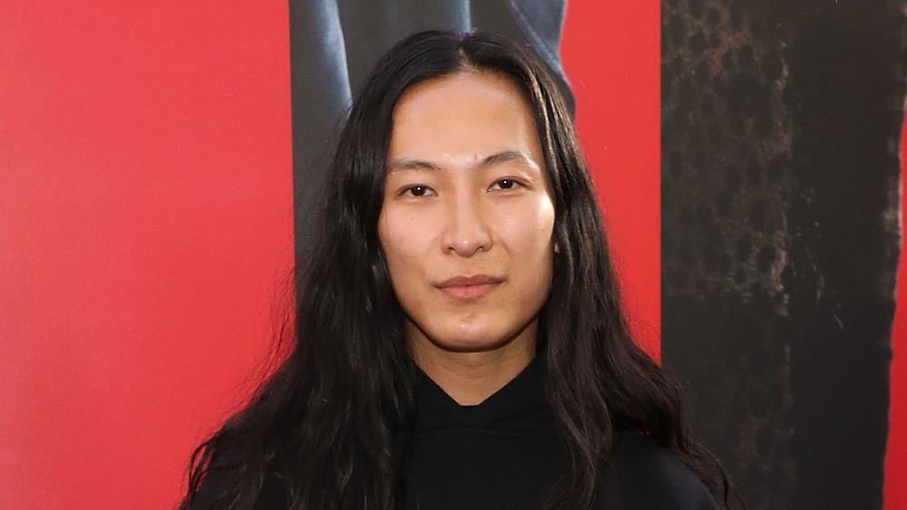 Alexander Wang posing
