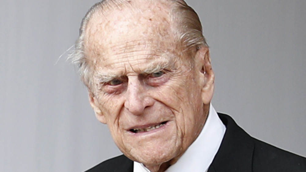 Prince Philip attends the wedding of Princess Eugenie