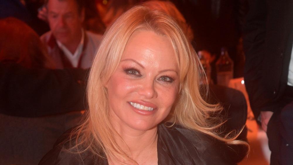 Pamela Anderson in Austria in 2019