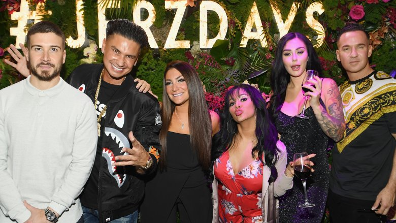 The cast of the Jersey Shore