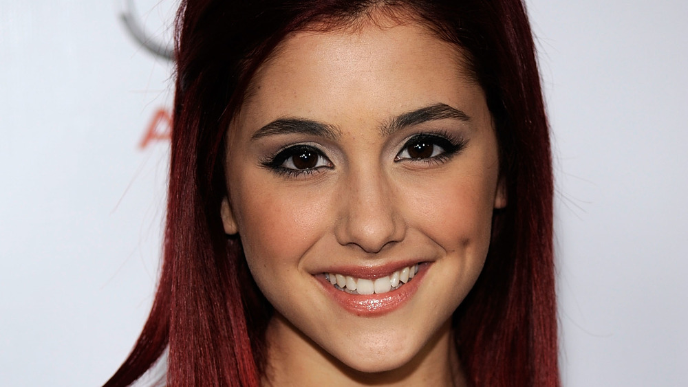 Ariana Grande smiling in 2009