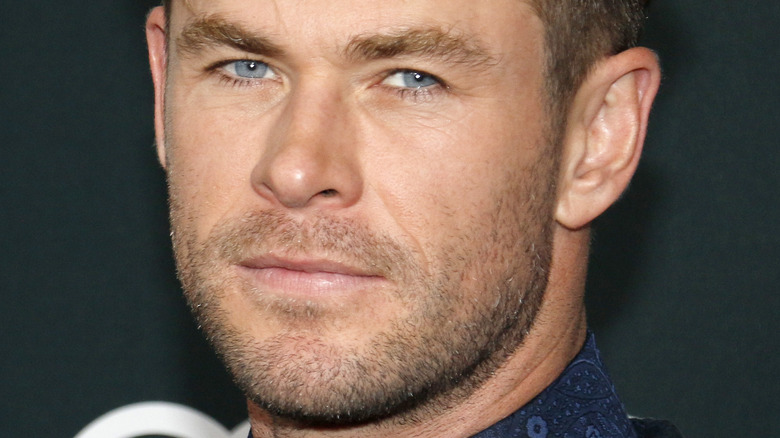 Chris Hemsworth posing 2019