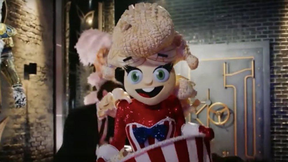 Popcorn on the Masked Singer