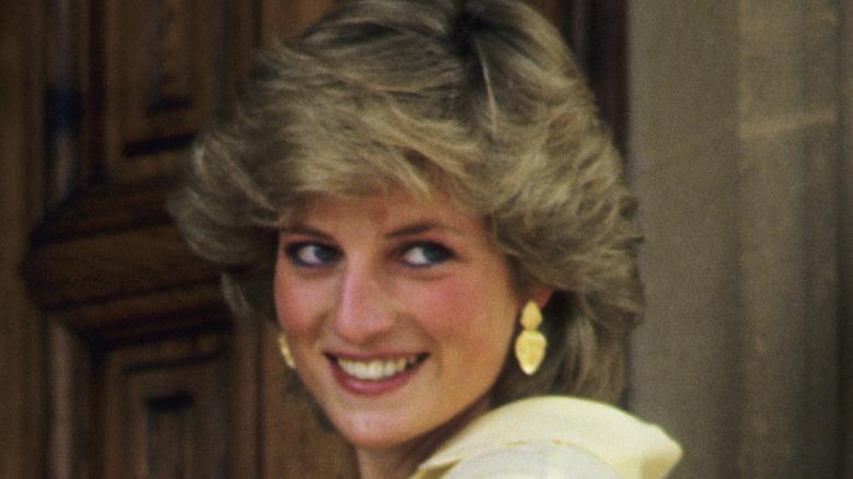 Princess Diana in Majorca, Spain in 1987