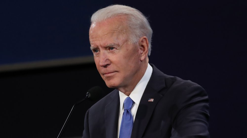 Joe Biden in the final presidential debate in 2020
