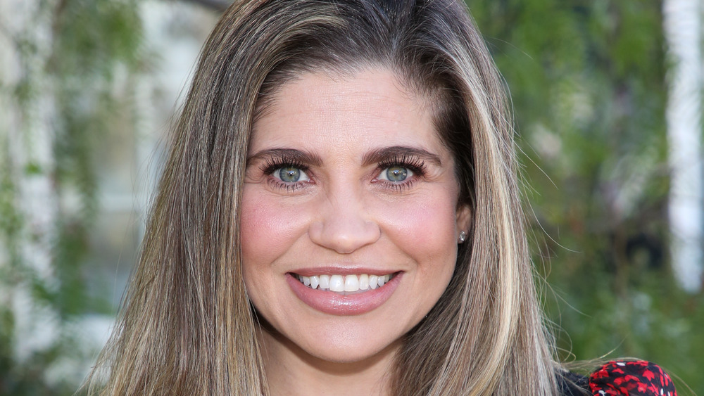 Danielle Fishel looking into the camera