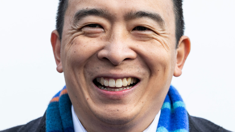 Andrew Yang smiling