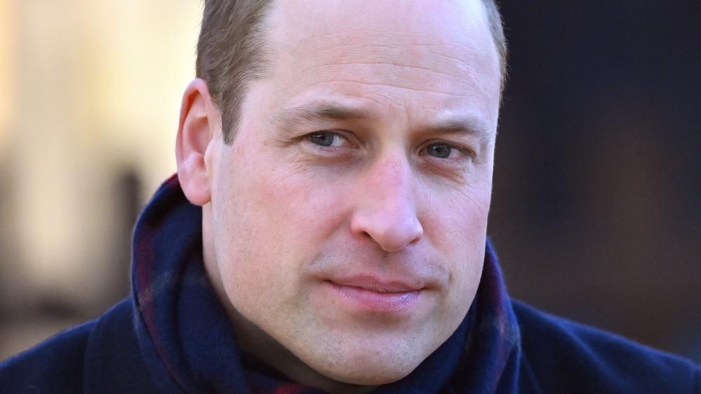 Prince William closeup