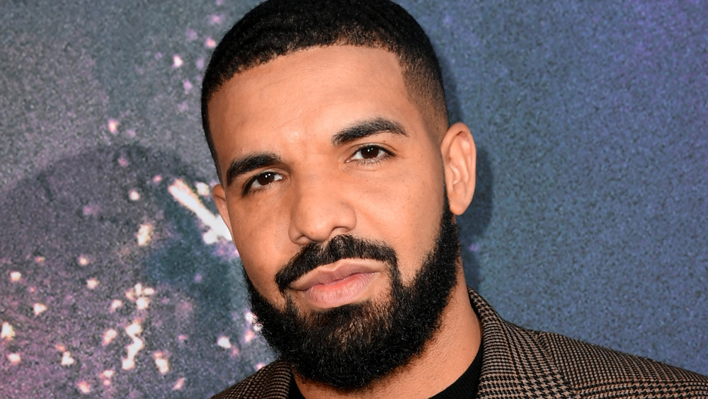 Drake at an event