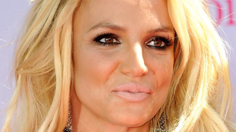 Britney Spears nude lip