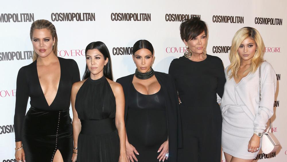 The Kardashian-Jenners on red carpet