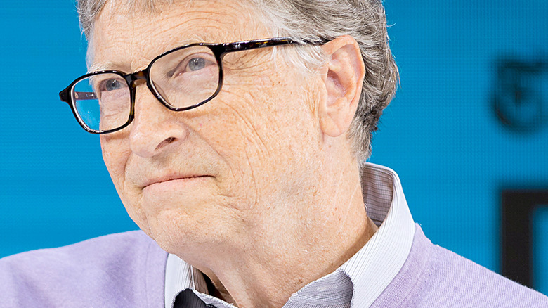 Bill Gates at a conference