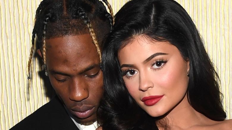 Travis Scott and Kylie Jenner together
