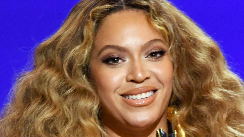 Beyoncé accepts the Best Rap Performance award for 'Savage' onstage during the 63rd Annual GRAMMY Awards