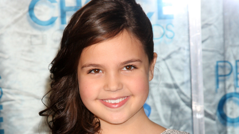 Bailee Madison at a red carpet event in 2011