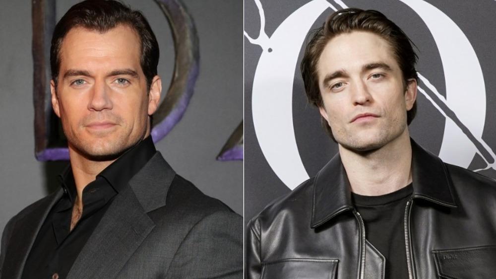Henry Cavill, Robert Pattinson