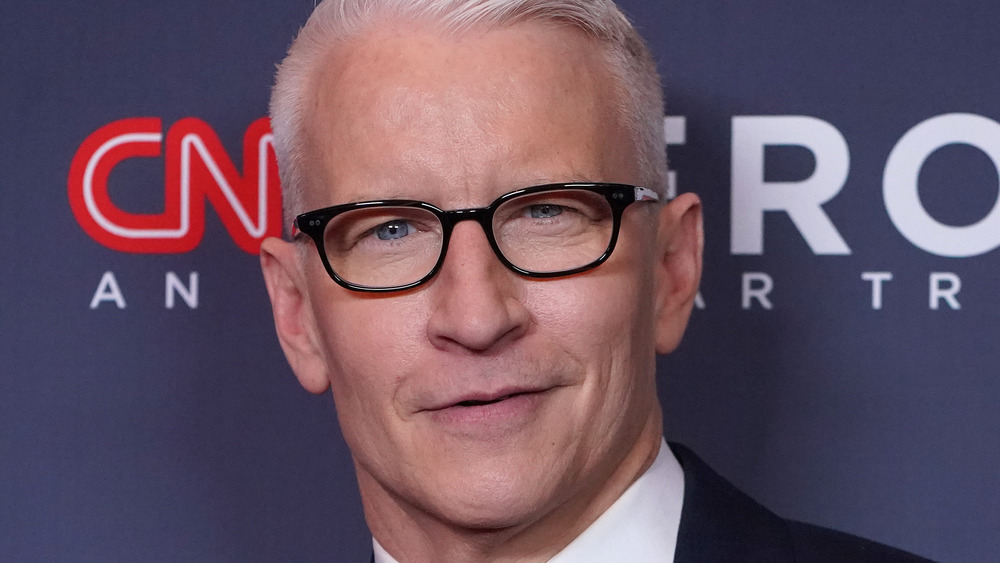 Anderson Cooper on red carpet