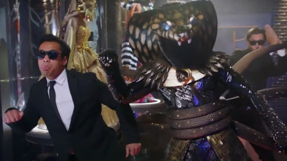 Serpent on The Masked Singer