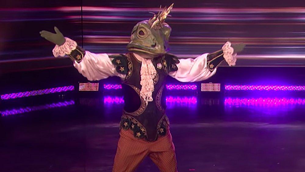 The Masked Dancer frog