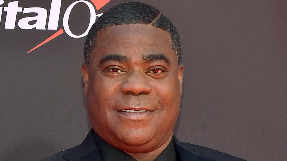 Tracy Morgan posing on the red carpet