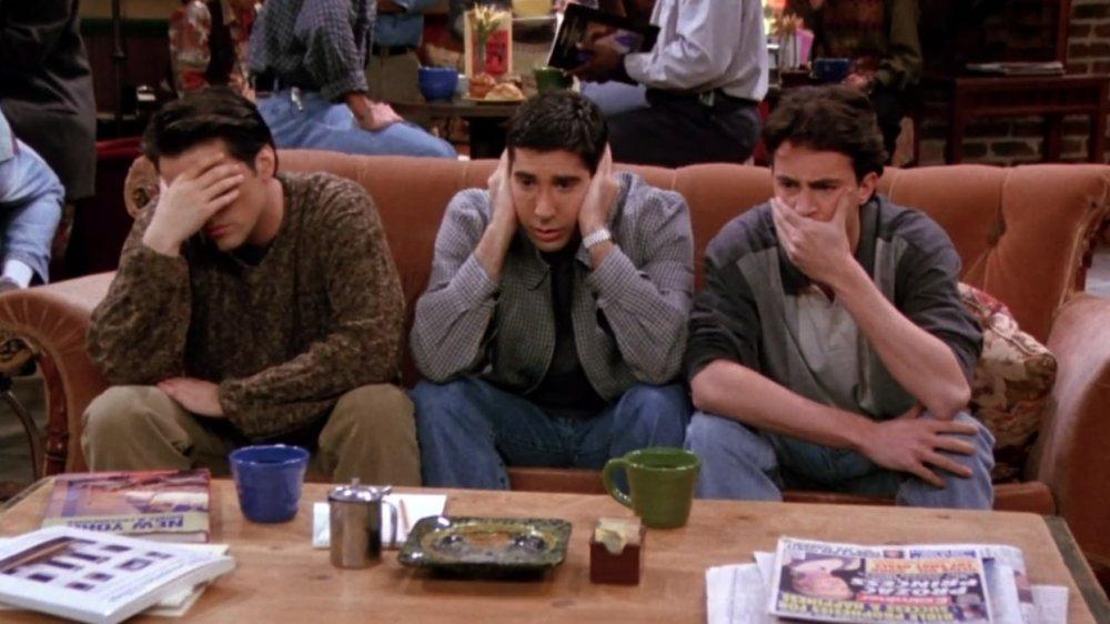 Matt LeBlanc, David Schwimmer, Matthew Perry on Friends