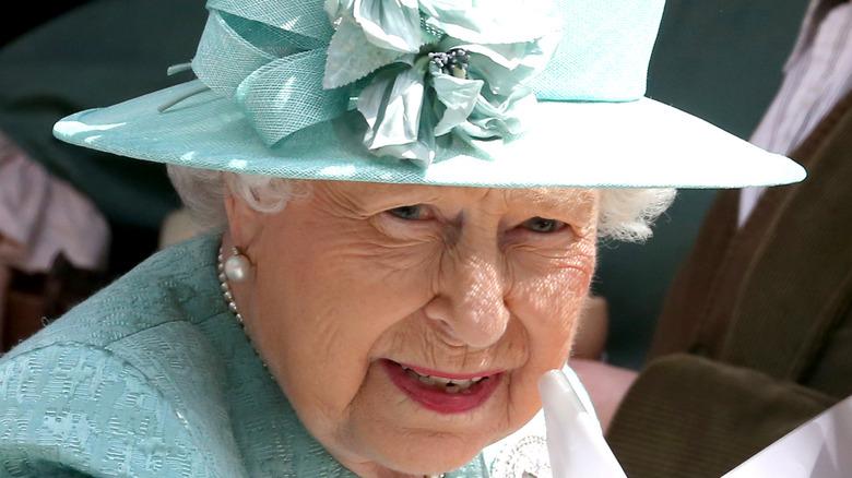 Her Royal Majesty Queen Elizabeth in 2019