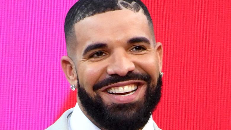 Drake at an award show
