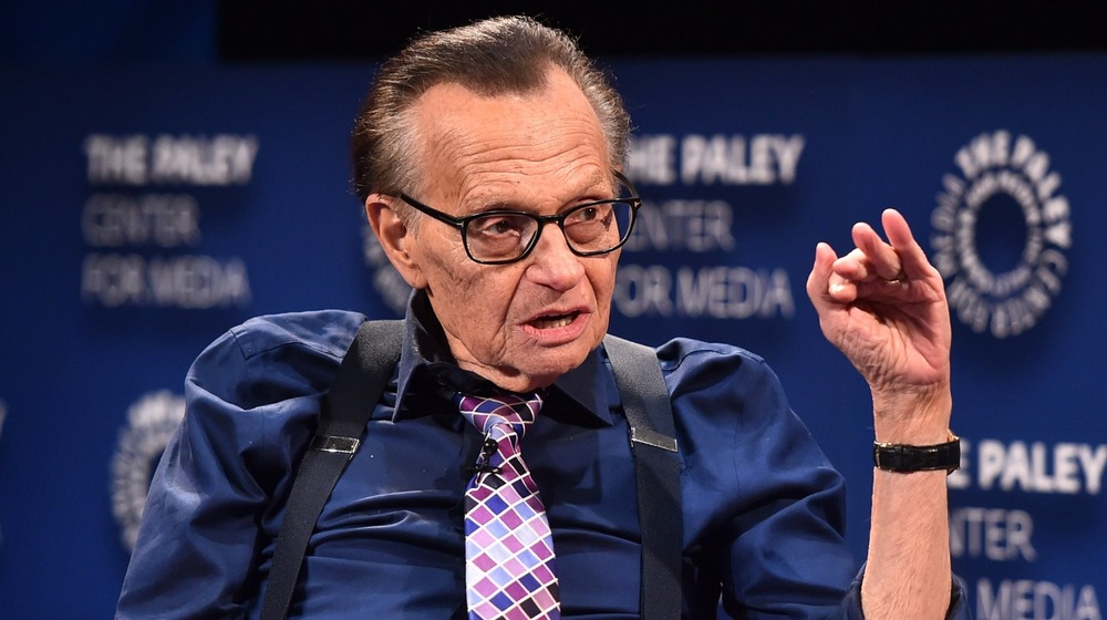 Larry king attends The Paley Center For Media Presents: A Special Evening With Dionne Warwick in 2018