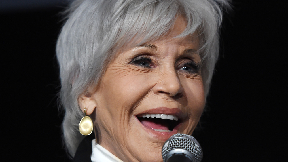 Jane Fonda closeup