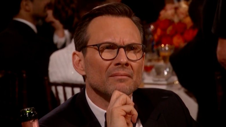 Christian Slater Golden Globes