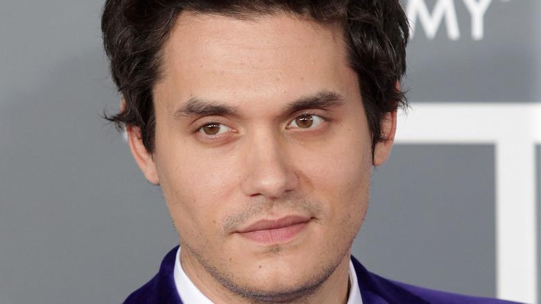John Mayer smirking