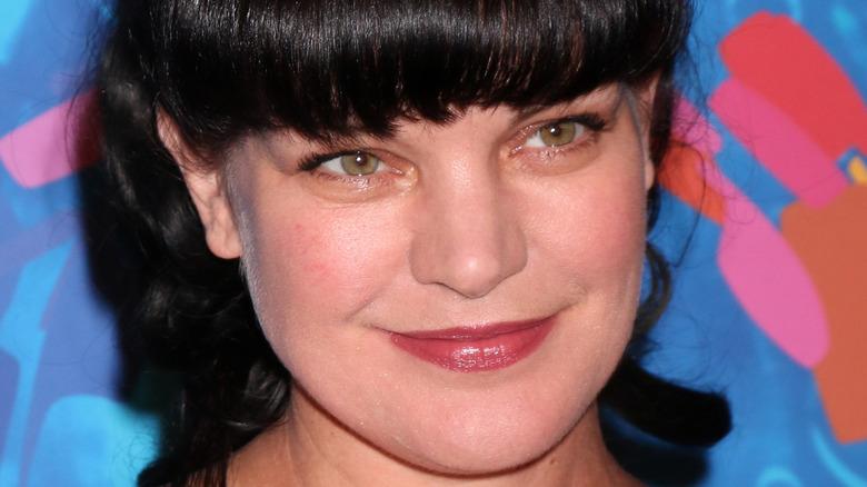 Pauley Perrette smiling close up