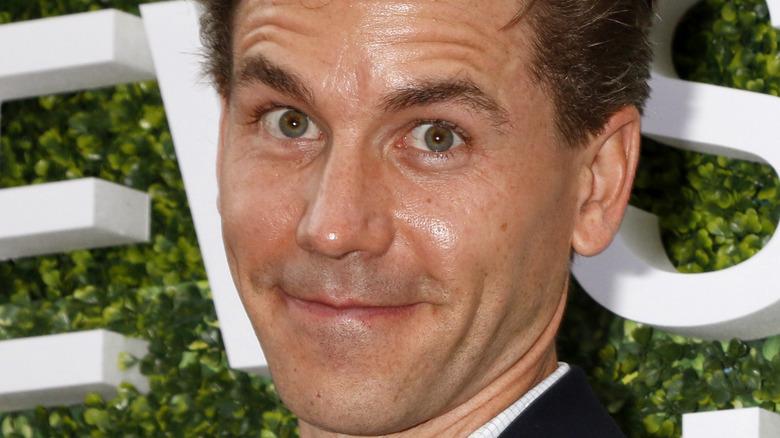 Brian Dietzen reacts on the red carpet