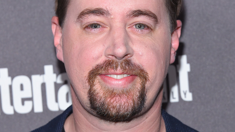 Sean Murray smiling on the red carpet
