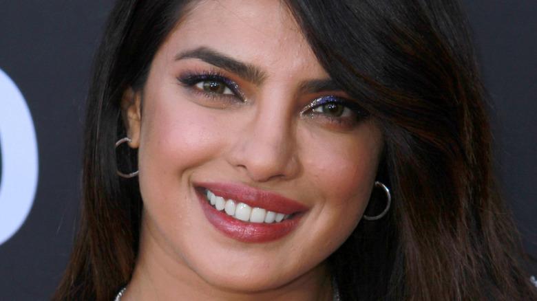 Priyanka Chopra smiling