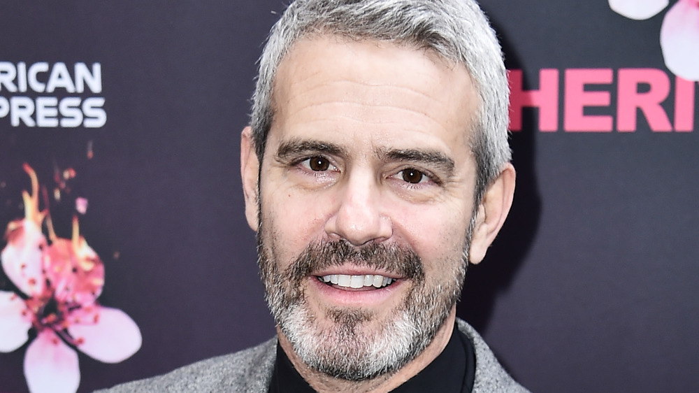 Andy Cohen, red carpet
