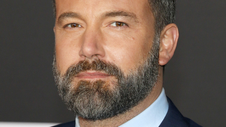Ben Affleck at the World premiere of 'Justice League' in 2017