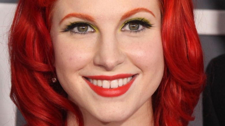 Hayley Williams red hair