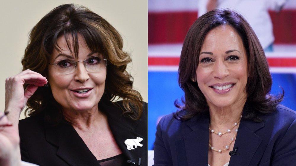 Sarah Palin and Kamala Harris