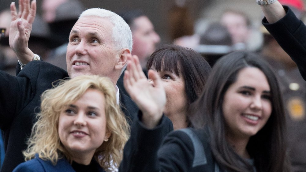Mike, Audrey and Charlotte Pence