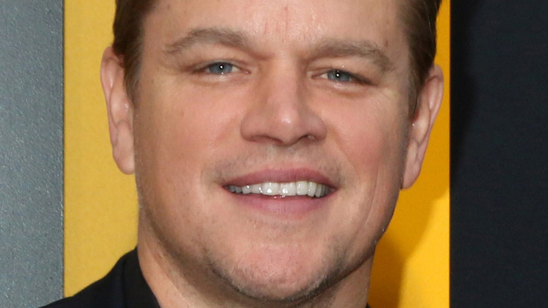 Matt Damon smiles in 2019