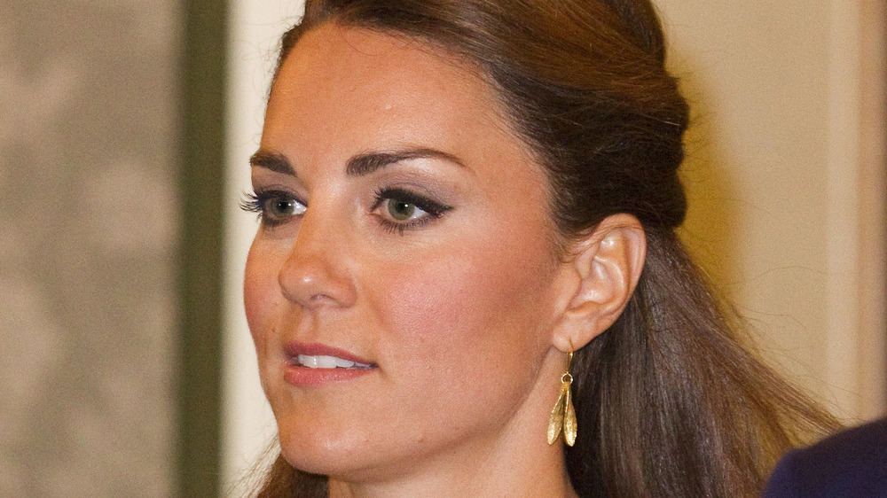 Kate Middleton attending an event