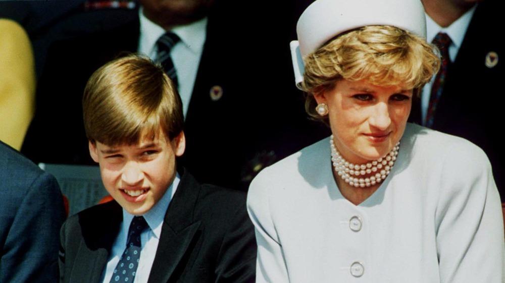 Princess Diana Prince William and Prince Charles