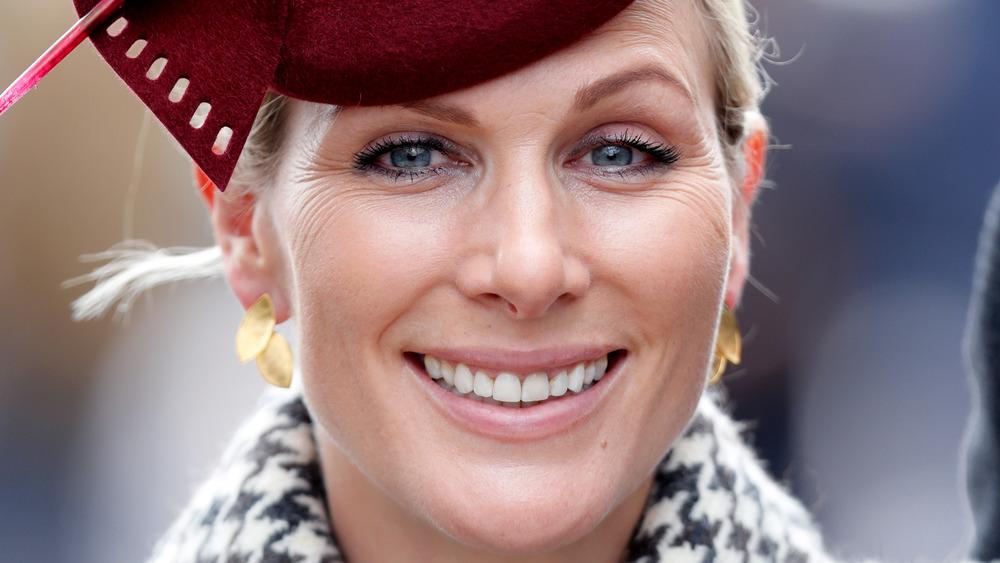 Zara Tindall smiling